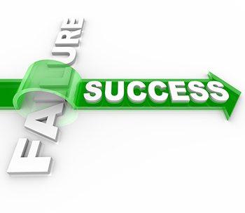success-over-failure