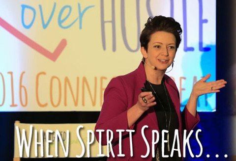 When Spirit Speaks…