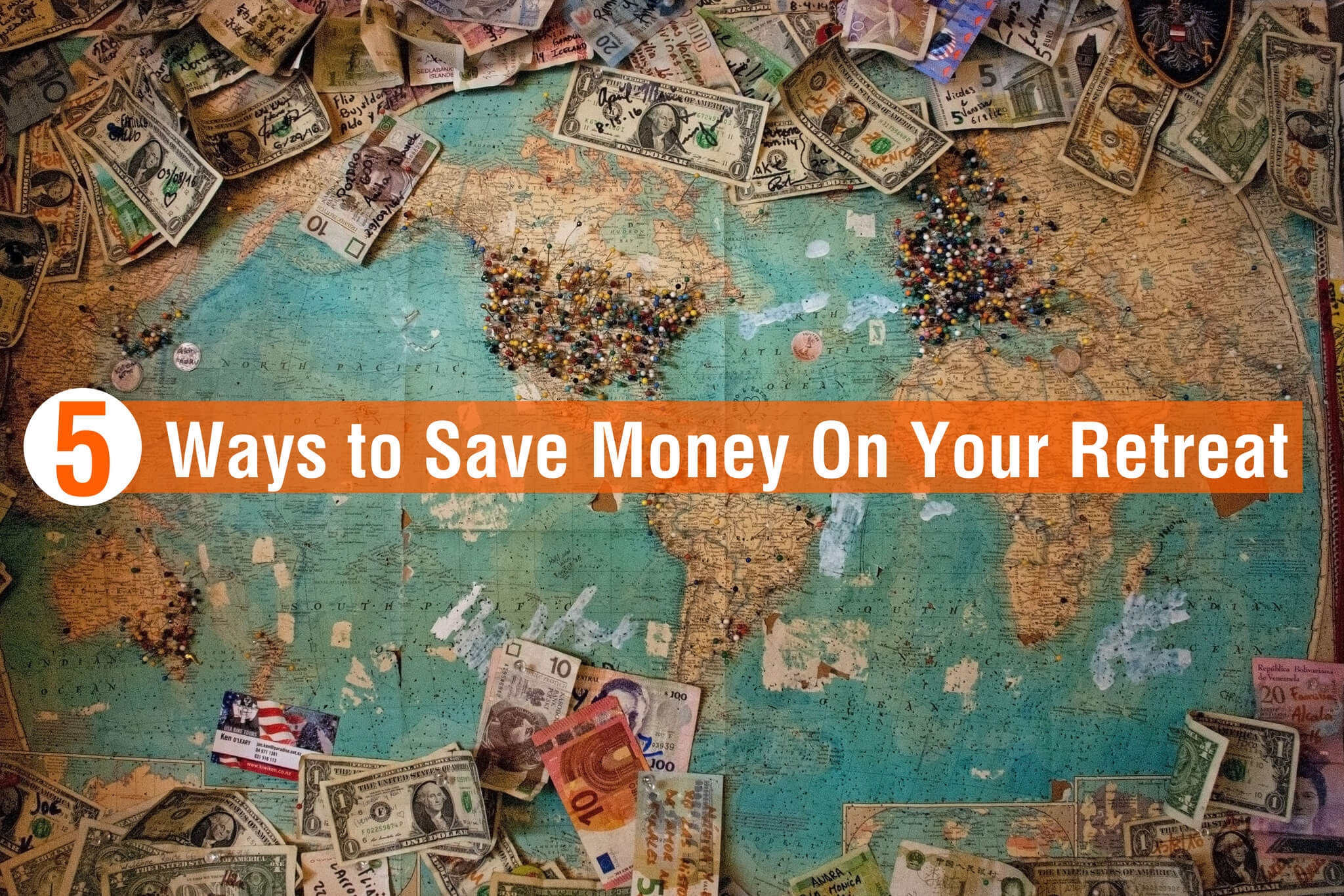 5 Ways to Save Money On Your Retreat