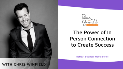 EP 46 | The Power of In Person Connection to Create Success with Chris Winfield